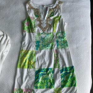 Lilly Pulitzer Patchwork Shift Dress